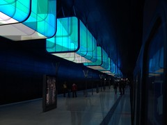 HCU U4 Subway Station (Lokomotive) Tags: underground subway ubahnhof hamburg creativecommons ubahn tubestation u4 2012 hafencity creativecommonsbyncsa ccbyncsa hafencityuniversität copyrightuwelucas