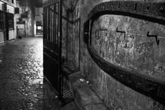 Graveyard (Explore) (Nick Lambert!) Tags: street blackandwhite bw graveyard scotland fuji gates ayr streetscape fujix100
