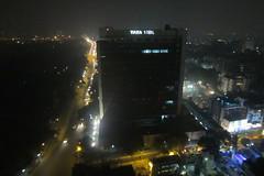 Tata Centre, Kolkata (seaview99) Tags: roof india night lights evening smog haze cityscape view aerial kolkata calcutta westbengal everestbuilding