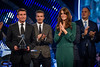 BBC Sports Personality of the Year - Picture Shows: LORD SEBASTIAN COE, DAVID BECKHAM, HRH DUCHESS OF CAMBRIDGE, SIR STEVE REDGRAVE - (C) BBC