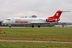 Fokker 100 D-AFKD (Andy C's Pics) Tags: f100 southend sen fokker olt fokker100 egmc dafkd oltexpress