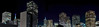the middle ground (pbo31) Tags: sanfrancisco california city urban panorama black color skyline architecture night nikon december large panoramic structure financialdistrict frenchquarter transamerica stitched 2012 d700