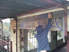 STB (Paint Freakz) Tags: urban london art graffiti blog kent factory warehouse crime legal cray foots sidcup klinger