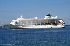 The world Cruise ship (Trucks and nature) Tags: world ocean cruise sea ship vessel stack bt stacks helsingborg liner the skepp kryssning fartyg kryssningsfartyg