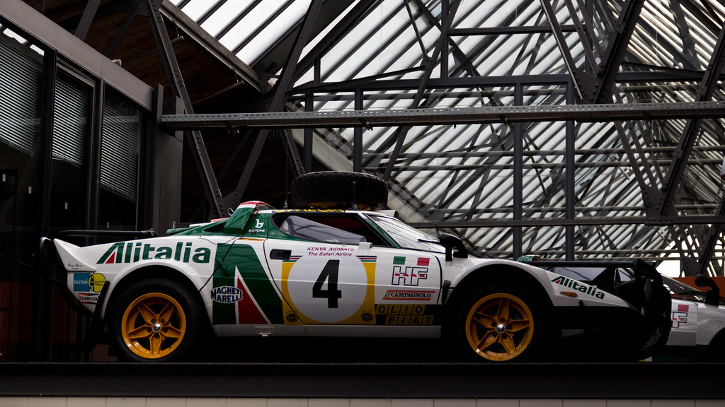 Lancia Stratos by Falling Outside The Normal Moral Constraints, on Flickr
