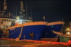 Tied Up Safely (PRS Images) Tags: night port boats harbour stjohns newfoundlandlabrador