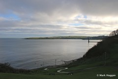 """The Snake"", Larne (MarkHaggan) Tags: uk sea tower coast path snake hill northernireland steep chaine ulster countyantrim antrim irishsea larne islandmagee chainememorial"