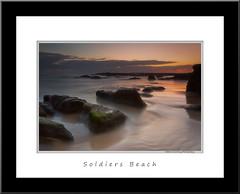 Days Dawn - New Frame (Mathew Courtney) Tags: water sunrise nsw centralcoast soldiersbeach