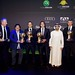 Jansen, Maradona, Mendes, Falcao, Sheikh Al Maktoum and Gil