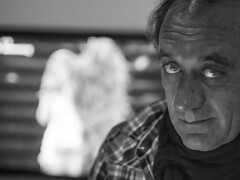 Carlo (Postcards from Inside) Tags: portrait blackandwhite olympus zuiko epl3