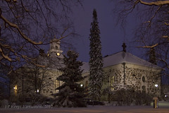 Talven lumoa  The Kuopio Dome in December (J-P Korpi-Vartiainen) Tags: christmas blue winter snow church finland dark evening town twilight scenery december afternoon cathedral snowy religion dome lumi talvi kuopio maisema kirkko ilta tuomiokirkko joulu sininen rakennus kaupunki uskonto tunnelma joulukuu luminen hmr talvinen nhtvyys kuopion iltapiv pohjoissavo idyllinen uskonnollinen tunnelmallinen maalauksellinen jpko