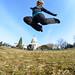 Jumping at the US Captiol