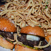 Mini burgers @ Matchbox Pizza