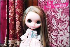 Mia as Marie Antoinette