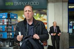 Simply Food (LarryH.) Tags: street uk portrait colour london photography fuji candid streetphotography documentary x100 fujifilmx100 fujix100