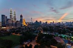 Kuala Lumpur, 2013-01-06 (hilman79) Tags: city sunset nikon cityscape malaysia bluehour kualalumpur kl dri hdr klcc d7000 nikond7000 hilman79yahoocom shutterholic shutterholicnet hilman79 hilmanali hilmanalicom