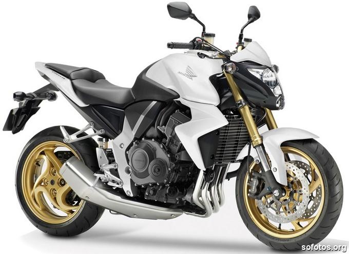 Honda CB 1000R Branca 2013