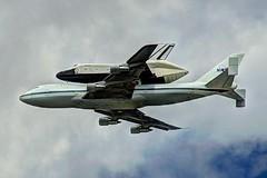 (David Pirmann) Tags: newyorkcity nj enterprise spaceshuttle hoboken flyover ov101