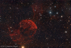 IC 443 Jellyfish Nebula (S Migol) Tags: pentax astrophotography astronomy astrophoto smigol ic443 pentaxk10d jellyfishnebula Astrometrydotnet:status=solved stephenmigol stellarvuesv4 Astrometrydotnet:version=14400 sh2248 sharpless248 copyright2013 Astrometrydotnet:id=alpha20130138531775