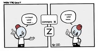Command+Z