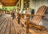 Porch Chairs (grandalloliver) Tags: camping summer vacation canon chair florida september porch hdr topaz floridastatepark photomatix canonefs1755mmf28usm southwaltoncounty hwy30a rebelxsi canonxsi topazadjust grandalloliver grandalloliverphoto topsailhillstateparkflorida