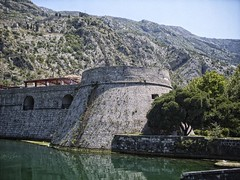 Venetian Fortifications (Linus Wrn) Tags: venice mountains canal venetian balkans fortification fortress montenegro kotor crnagora