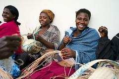 {rural uganda} : the artisans (ktrap) Tags: africa happy women handmade crafts smiles uganda wicker artisans weaving development empowerment