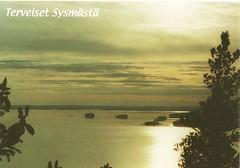 The Lake of Päijänne (Paicil) Tags: sunset sky finland postcard sysmä päijänne päijätsalo
