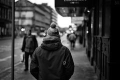 PomPom (stephen cosh) Tags: life street city people blackandwhite bw sepia mono scotland town glasgow candid streetphotography rangefinder reallife humancondition blackandwhitephotos 50mmsummilux blackwhitephotos leicam9 stephencosh leicammonochrom leicamm
