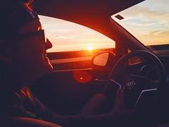 (Meg4nnn) Tags: smile beautiful vsco iphonephoto journey vacation adventure explore nature scenery landscape girlfriend sunset drive driving carride roadtrip july summer