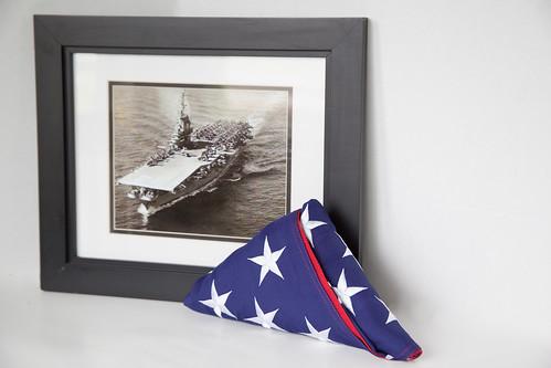 Folded American Flag - Veterans - US Fla by veteranscallusa, on Flickr