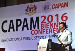 Commonwealth Secretary-General Scotland at the Opening of the Commonwealth Association for Public Administration and Management (CAPAM) conference (Commonwealth Secretariat) Tags: putrajaya wilayahpersekutuan malaysia mys