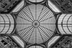 Web (luigi ricchezza) Tags: galleriaumberto cupola rete spider web