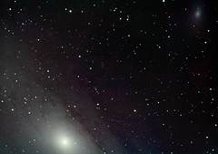 Andromeda Galaxy (M31) with Satellite Galaxy (M110) (Davide Simonetti) Tags: m31 m110 messier31 messier110 andromedagalaxy ngc224 ngc205 galaxies astrophotography astronomy