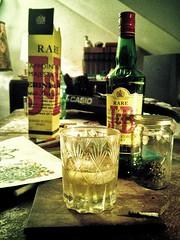 Gracias por acordarte de mi ;) (mate con yogur) Tags: jb scotch escoces whisky world mundo yo ego me ii centro center centeroftheworld shit vialactea milkyway