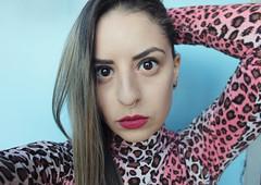 Malva baby! (some_stuff) Tags: portrait woman pink malva lips eyes staring browneyes brazilian