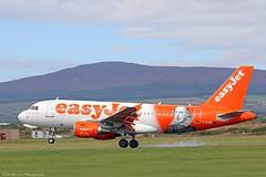 EasyJet Airbus A319 G-EZBI at Isle of Man EGNS 26/08/16 (IOM Aviation Photography) Tags: easyjet airbus a319 gezbi isle man egns 260816