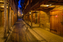 Bryggen after the tourists are gone. (USpecks_Photography) Tags: bryggen bergen norway hanse unescoworldheritagesite