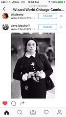 wednesday addams (timp37) Tags: chicago illinois rosemont august 2016 wizard world comic con nat nathalie wednesday addams family conlife cosplayers cosplay cosplayer