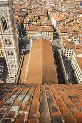 Vrtigo florentino (Leandro Fridman) Tags: arquitectura techos tejas tejuelas torre florencia ciudad nikon d60 nikond60