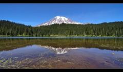 Reflection Lake at MT Rainer (Tokina 11-16mm) (Jayesh Modha) Tags: jayeshmodhaphotography jayeshmodha atx116prodx tokina 1116mm f28 dx lens mtrainier reflectionlakes water reflection