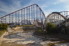 Project 2018 Site with the Big One and Big Dipper (CoasterMadMatt) Tags: pleasurebeachblackpool2016 blackpoolpleasurebeach2016 pleasurebeachblackpool blackpoolpleasurebeach pleasure beach blackpool pleasurebeach amusementpark themepark funfair amusement park theme fun fair fairground englishthemeparks rollercoasters rollercoaster roller coasters coaster englishrollercoasters ride rides thebigone bigone big one bigdipper dipper project2018site project2018 construction shadows attraction attractions northwestengland england britain greatbritain gb unitedkingdom uk august2016 summer2016 august summer 2016 coastermadmattphotography coastermadmatt photos photographs nikond3200