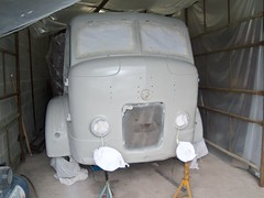 Commer Restoration (Rootes75) Tags: commer restoration rootes lorry classic vintage epoxy primer paint