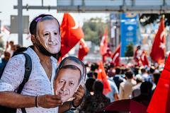 IMG_0321.JPG (esintu) Tags: mask rally flag turkey istanbul yenikapi