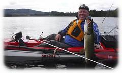 Kayak Monday (Nicolas Valentin) Tags: scotland kayak kayakfishing kaskazi pike esox fish