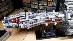 Omega Destroyer WIP 20: Incorporated Feedback (Rphilo004) Tags: lego shiptember 2016 omega class destroyer agamemnon babylon 5