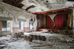 Powell & Pressburger (www.nicolabertellotti.com) Tags: cinema theatre teatro rosso powell pressburger red urbex decay decadenza forgotten abbandonato abbandonata
