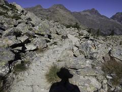 Adventure time (Lumase) Tags: hike hiking montavic valdaosta walking outdoor shadow selfportrait rugged stone mountain alps beautyinnature wilderness