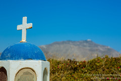 Mini-Church Shrine. Santorini, Greece