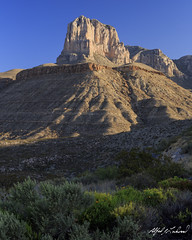 El Capitan - Take Two (Alfred J. Lockwood Photography) Tags: alfredjlockwood nature landscape mountain elcapitan morning spring guadalupemountainsnationalpark nationalpark guadalupemountains texas zeiss